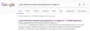 Estarás posicionado en Google. Te encontrarán ´facilmente.